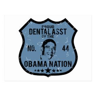 Dental Asst Obama Nation Postcard