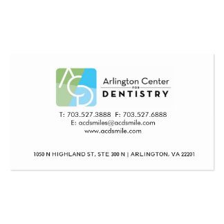 DENTAL CARD PACK OF STANDARD BUSINESS CARDS