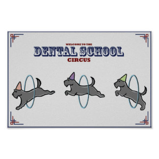 """Dental Circus"" Poster"