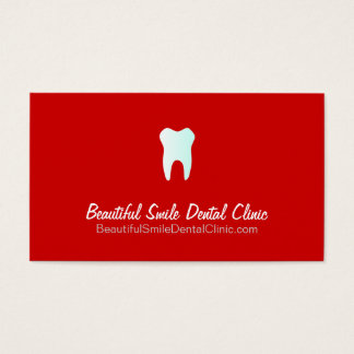 Dental Clinic Appointment Cards- Color changeable
