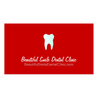 Dental Clinic Appointment Cards- Color changeable Pack Of Standard Business Cards