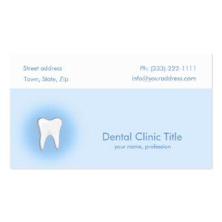 Dental clinic business card