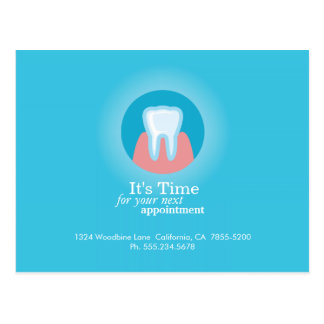 Dental Clinic Postcard Custom Appointment Reminder