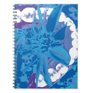 Dental Flower & White Teeth Dentist Notebook