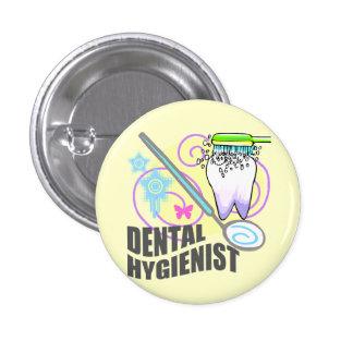 Dental Hygienist 3 Cm Round Badge