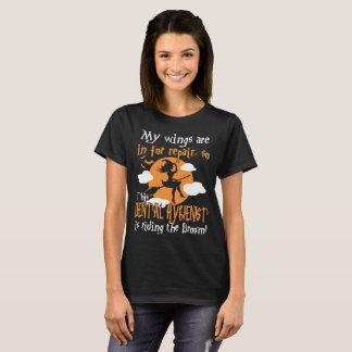 Dental Hygienist Riding The Broom Halloween Tshirt