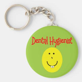 dental hygienist SMILEY gifts---Funny Key Ring