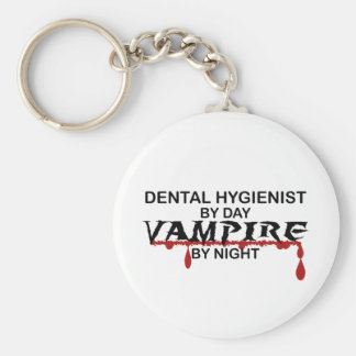 Dental Hygienist Vampire by Night Key Ring