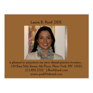 Dental Intro Postcard