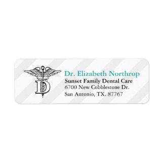 Dental Office Custom Return Address Label