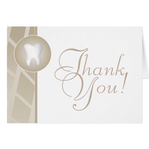 Dental Office Thank You Card
