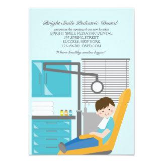 "Dental Patient Dentist Announcement 5"" X 7"" Invitation Card"