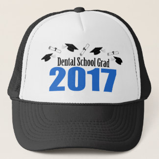 Dental School Grad 2017 Caps And Diplomas (Blue)