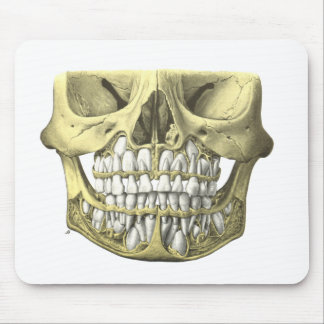 Dental Skull Anatomical Art Mouse Pad