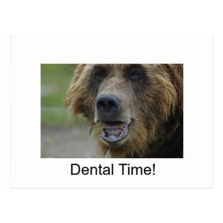 Dental Time! Postcard