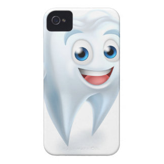 Dental Tooth Mascot iPhone 4 Cover