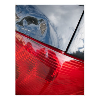 Dented tailgate postcards