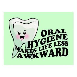 Dentist and Dental Hygienist Gifts Postcard