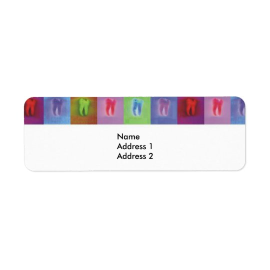 Dentist Avery Label Return Address Label