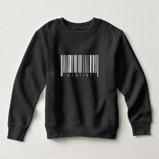 Dentist Barcode Sweatshirt