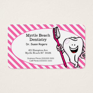 Dentist Business and Appointment Card
