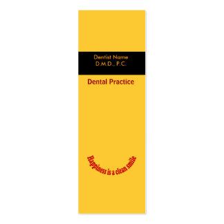 Dentist Business Card Templates