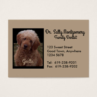 Dentist Business Card - Cutest Dog in the World