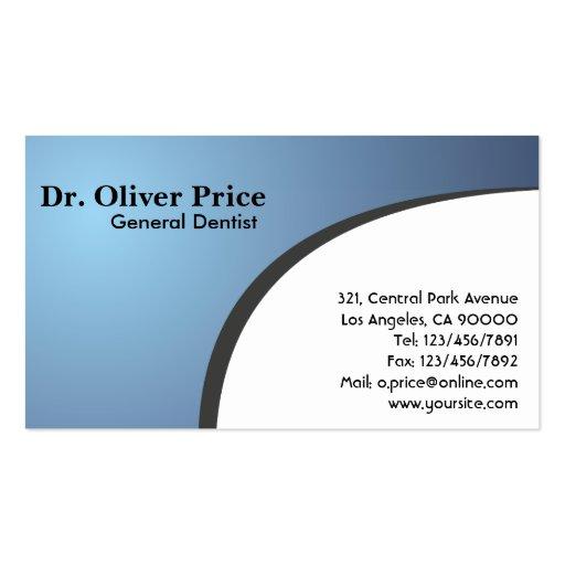 Dentist - Business Cards