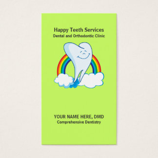 Dentist Businesscards Templates Business Card