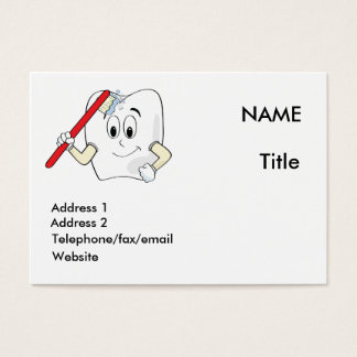 Dentist card