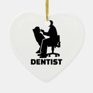 Dentist Ceramic Heart Decoration
