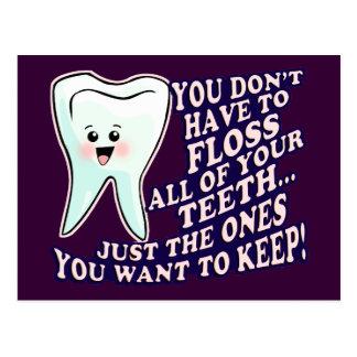 Dentist Dental Hygienist Periodontist Postcard