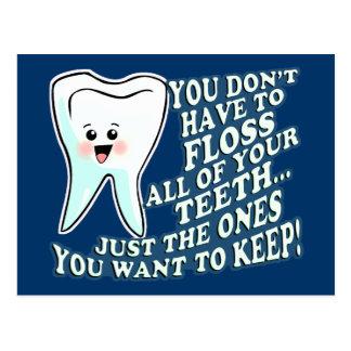 Dentist Dental Hygienist Postcard