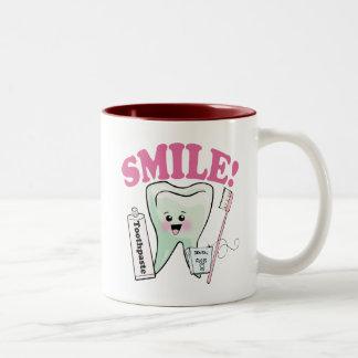 Dentist Dental Hygienist Two-Tone Coffee Mug