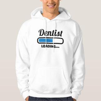 Dentist loading hoodie