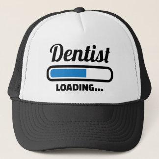 Dentist loading trucker hat