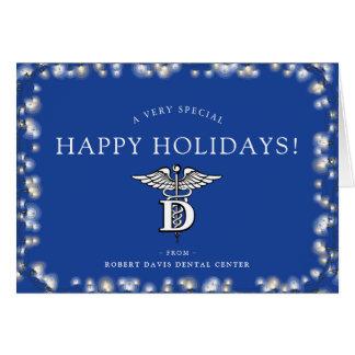 Dentist Office Custom Happy Holidays Card