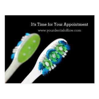 Dentist Office Dental Appointment Reminder Postcard