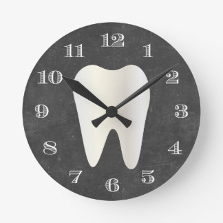 Tooth Wall Clocks Zazzle Com Au