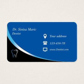 dentist orthodontist business card