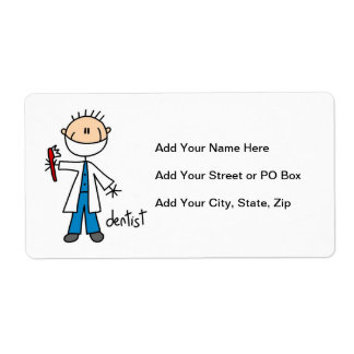 Dentist Stick Figure