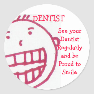 Dentist, sticker