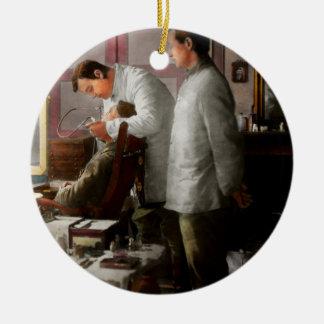 Dentist - The horrors of war 1917 Round Ceramic Decoration