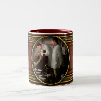 Dentist - The horrors of war 1917 Two-Tone Coffee Mug