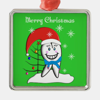 Dentist Tooth Christmas Ornament