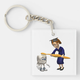 Dentistry 2 key ring
