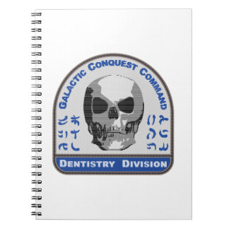 Dentistry Division - Galactic Conquest Command Spiral Notebook