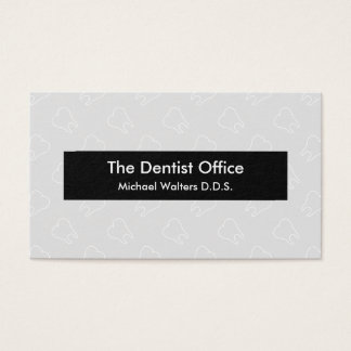 Dentistry Office Business Business Card