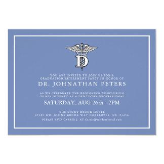 Dentistry Profession Graduation|Retirement Invite