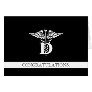Dentistry Professional Custom Congratulations Card